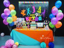jump party dessert table singapore