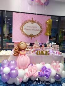 princess-kids-party-balloon-decoration-singapore