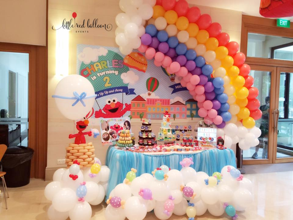 Dessert Table Singapore Little Red Balloon Little Red
