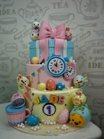 tsum-tsum-theme-cake