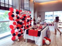 Mini Cooper Themed party backdrop