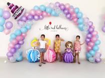 princess-theme-balloon-arch