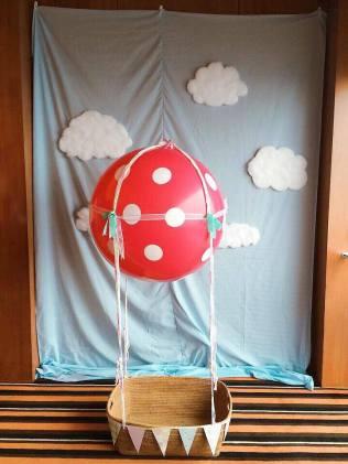 Hot Air Balloon Polkadot