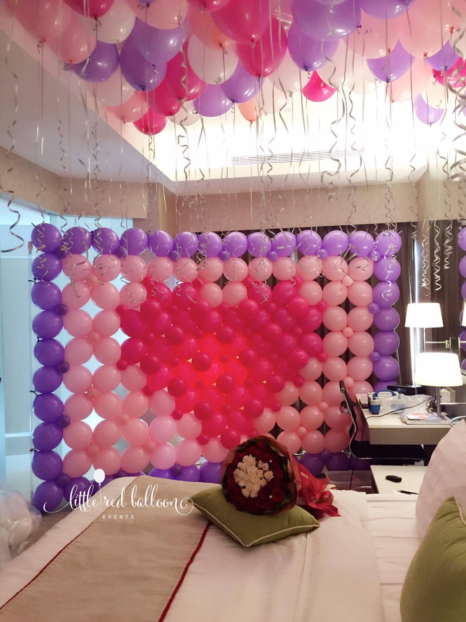 Wedding Balloon Decoration Singapore Little Red Balloon
