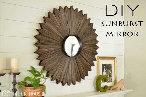 DIY Sunburts Mirror