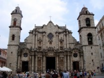 Cathedral of Havana also known as San Cristóbal Cathedral.