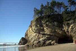 Hug Point, Oregon Coast.