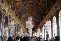 Inside the Palace of Versaille, Hall of Mirrors (Versaille, France)