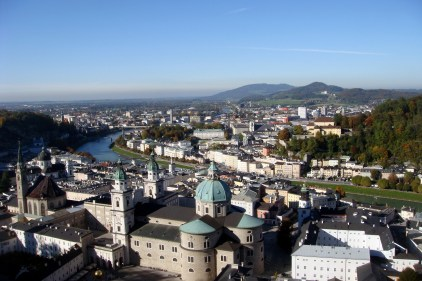 View from the top! Salzburg, Austria.