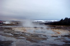 Made our way to Strokkur Geysir (part of the Golden Circle route).