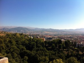 Another breathtaking view. The Sierra Nevada mountains are in the background.