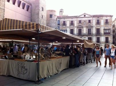 It looked a lot like a flea market. Very neat though.