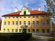 Schloss Frohnburg - The front exterior filming location for the Von Trapp mansion.