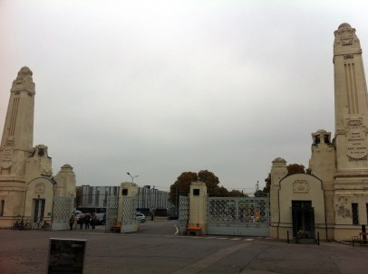 Entrance to Zentralfriedhof. One of the largest cemeteries in the world. They were not kidding when they said that. Trust me.