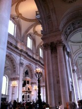 Inside St. Paul's Cathedral