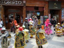 Puno - Festivities on Puno Day. Parades & marching bands!