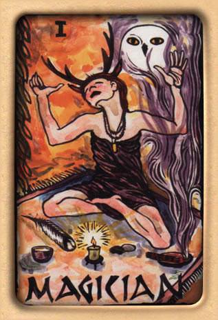 Make it Happen - The Magician tarot card