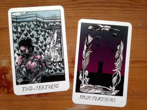 two-and-four-of-feathers-collective-tarot