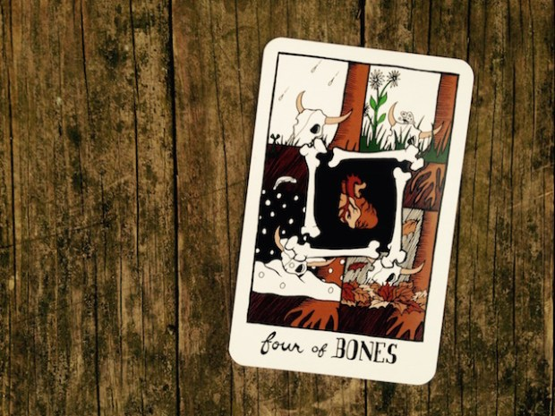 four-of-bones-collective-tarot