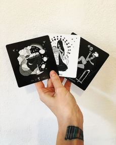 Three Tarot Cards | Dark Days Tarot