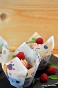 Cupcakes mit Himbeerfrosting