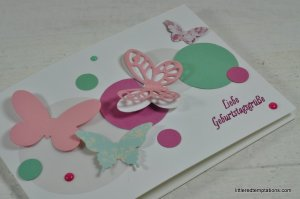Butterflly Card stampin up