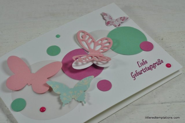 butterfly card stampin up