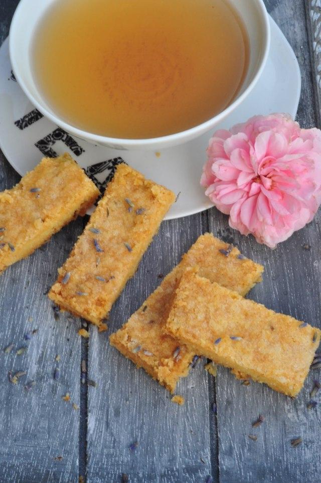 Shortbread mit feinem Lavendel - perfekt für die Teatime: ein Rezept wie geschaffen für den Spätsommer.