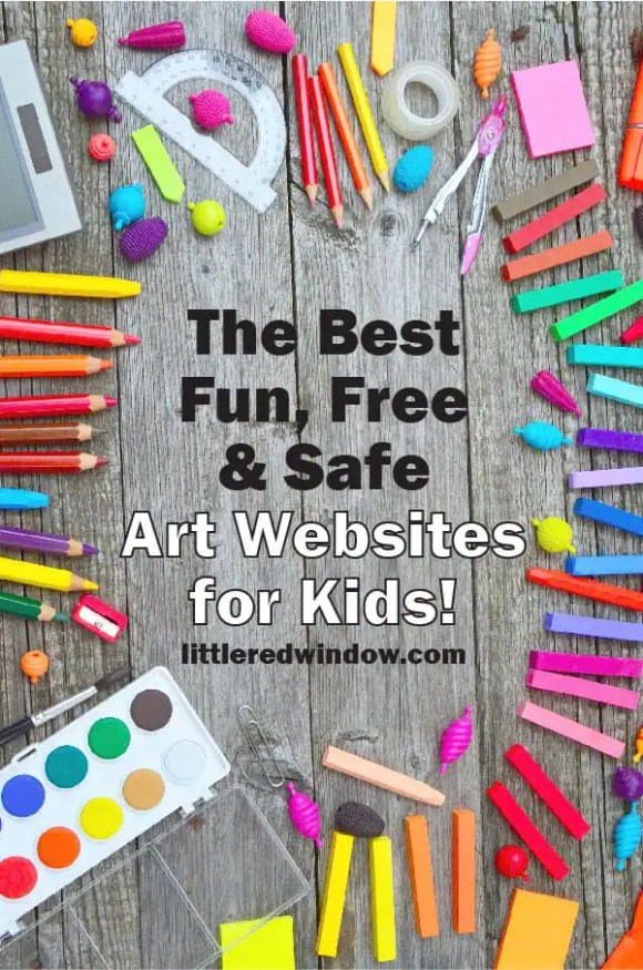 The Best Fun, Free, (and Safe) Online Art Lessons for Kids ...