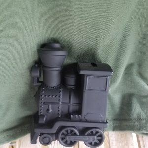 Black Train Engine Bank