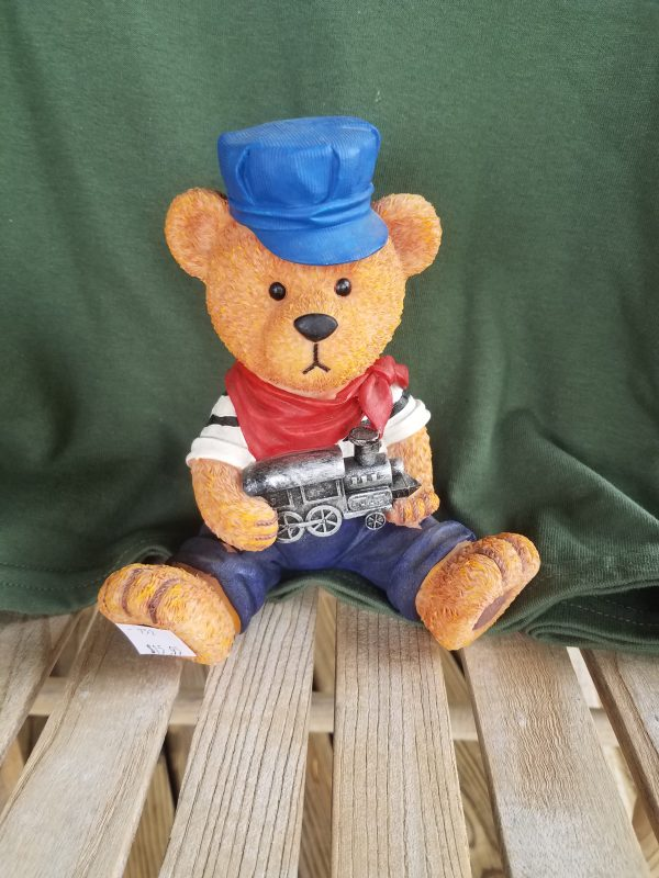 Engineer Teddy Bear Bank