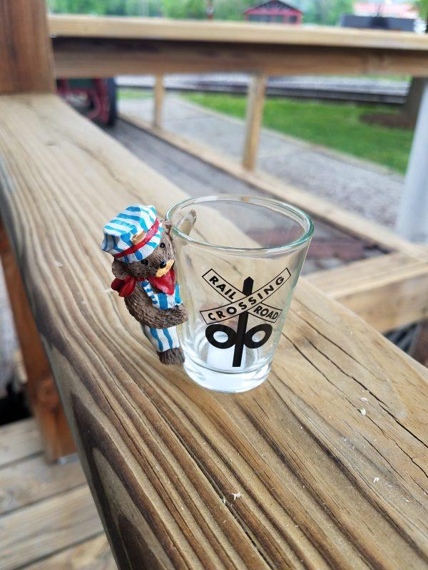 Train Engineer Shot Glass
