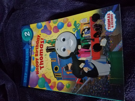Happy Birthday Thomas Level 2 Reading