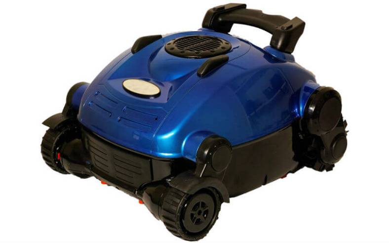 Wall climbing robotic pool cleaner from Nu Cobalt