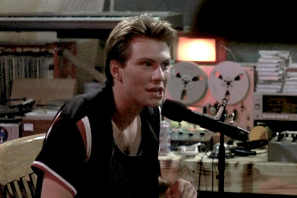 "Christian Slater as Happy Harry Hardon in ""Pump up the Volume"""