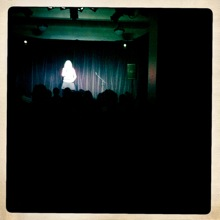 Roisin Conaty from the back of the room