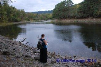 We lost the path a bit but found Loch Vaa