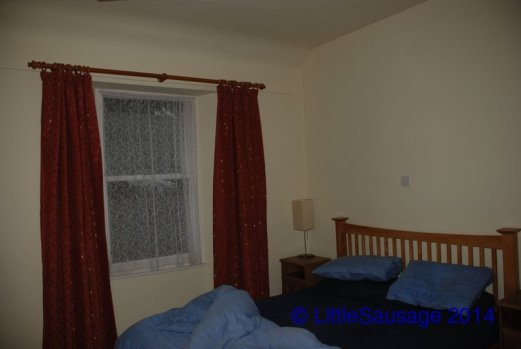This is the bedroom we used. There are 2 others too but they were too small to take a decent picture of!