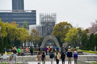 Peace Memorial Arch.