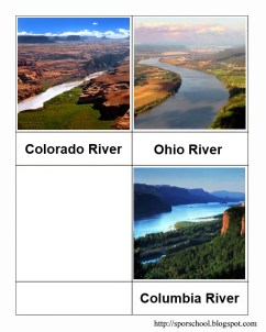 Rivers - Dates and Mountain Height Cards