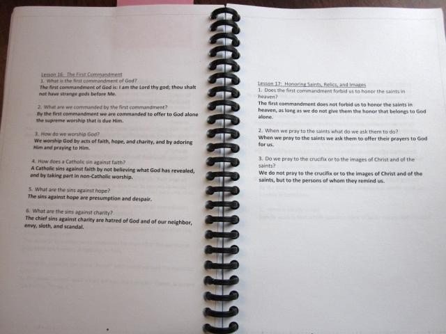 IMG 0314 - Recitation (shhhhh, Catechism) Printables