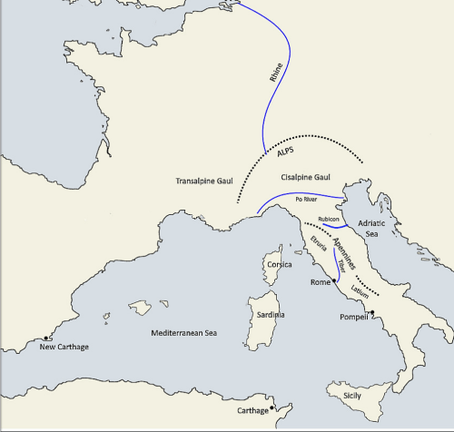 rome - Maps/Timelines