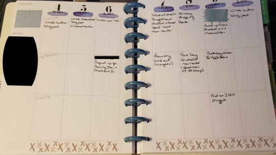 Planner Week 2