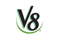 v8 juice logo