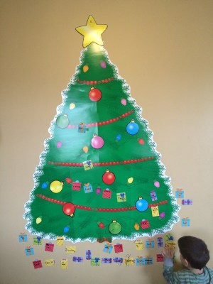 Gratitude Christmas tree