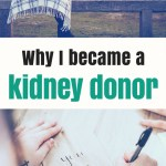 Why I became a kidney donor