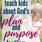 One great book to help kids understand how God works in their lives. #Christianmom #Bible #Jesus #Godsplan #familygoals #kidlit