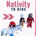 Play-based Christmas activities for Christian kids | Christmas activities and traditions for kids | Christmas fun for kids | Nativity scenes | Holiday ideas for kids | Advent ideas for kids #Advent #Christmaswithkids #Christianparenting