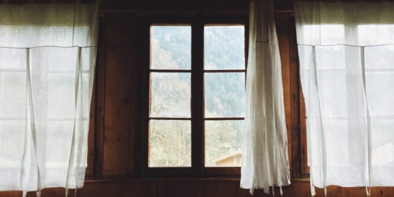how an old curtain changes the way we see God