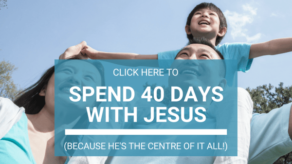 40 day with Jesus